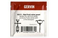 Дрожжи винные Gervin GV11 Red Fruit Wine
