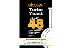 Дрожжи спиртовые турбо Alcotec 48